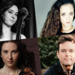 A. Margulis (violin), G. Lubbe (viola), N. Margulis (cello) & L. Maisky (piano)