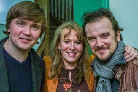 foto Ivan ,Reinilde,Georgi Laarne 2020